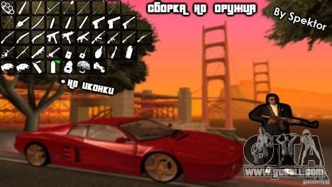HD Assembly for GTA San Andreas