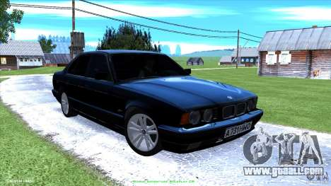 BMW E34 V1.0 for GTA San Andreas interior