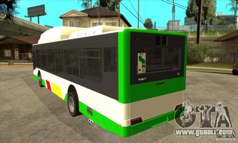 Mercedes Benz MAN Lions City CNG for GTA San Andreas back left view