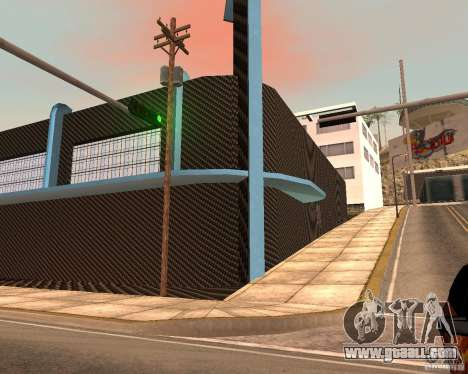 New HKS Style Tuning Garage for GTA San Andreas second screenshot
