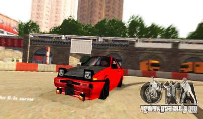 London Drift for GTA San Andreas third screenshot