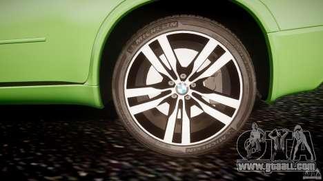 BMW X5 M-Power for GTA 4 bottom view