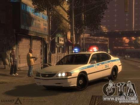 Chevrolet Impala Police 2003 for GTA 4