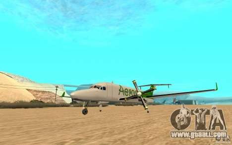 Beechcraft B1900D for GTA San Andreas right view