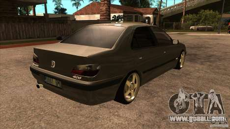 Peugeot 406 v1 for GTA San Andreas right view
