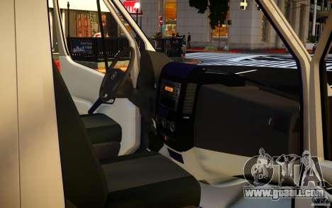 Mercedes-Benz Sprinter Passenger for GTA 4 bottom view