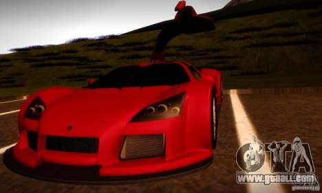 Gumpert Apollo for GTA San Andreas side view