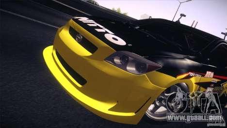 Scion TC Rockstar Team Drift for GTA San Andreas