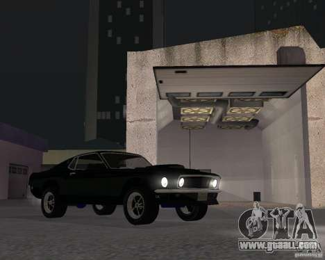 Ford Mustang Boss 1969 for GTA San Andreas
