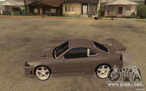Nissan Silvia S15 JC2 Tuning for GTA San Andreas