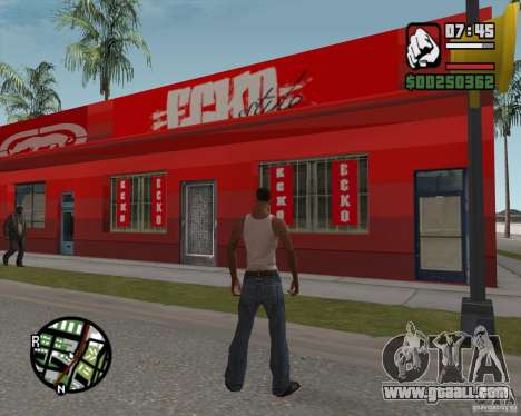 Shop Ecko for GTA San Andreas