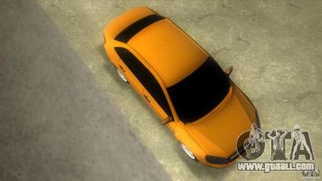 Lada Granta for GTA Vice City right view