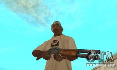 M870 for GTA San Andreas third screenshot