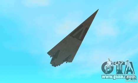 Executor Class Stardestroyer for GTA San Andreas side view