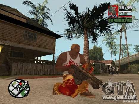 BulletStorm M4 for GTA San Andreas