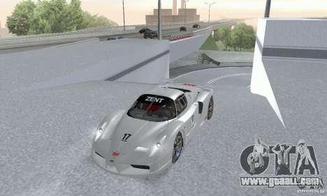 Ferrari FXX for GTA San Andreas right view