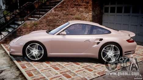 Porsche 911 (997) Turbo v1.0 for GTA 4 left view