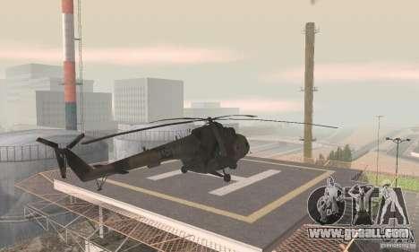 MI-17 for GTA San Andreas left view