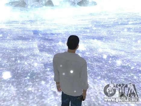 Snow MOD HQ V2.0 for GTA San Andreas forth screenshot