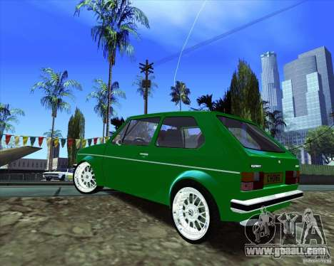 Volkswagen Golf MK 1 for GTA San Andreas back left view