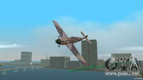 WW2 War Bomber for GTA Vice City