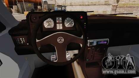 Opel Kadett GL 1.8 1996 for GTA 4 inner view
