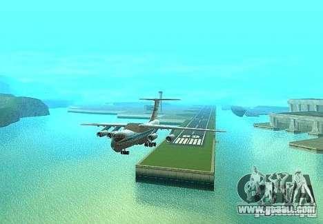 IL 76 m Aeroflot for GTA San Andreas right view
