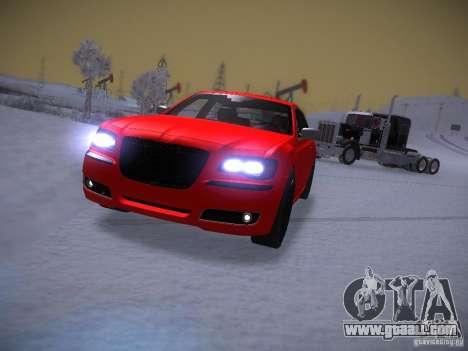Chrysler 300C SRT8 2011 for GTA San Andreas back view