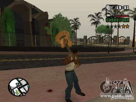 Guitar for GTA San Andreas second screenshot