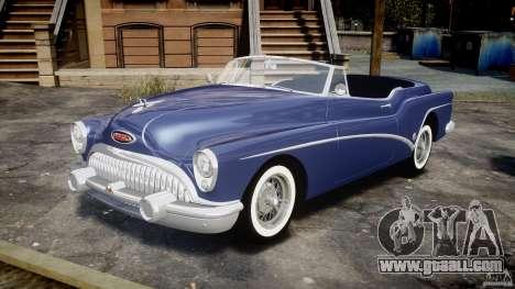 Buick Skylark Convertible 1953 v1.0 for GTA 4 left view