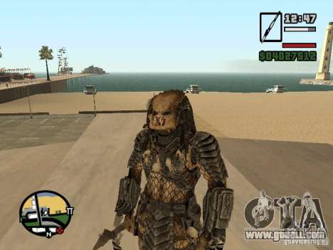 Predator Predator for GTA San Andreas third screenshot