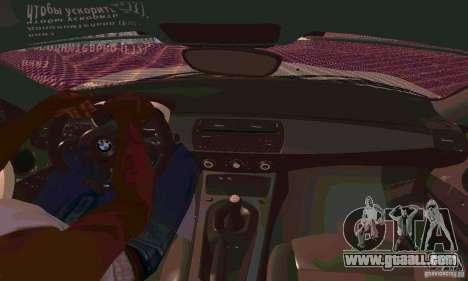 BMW Z4 E85 M for GTA San Andreas engine