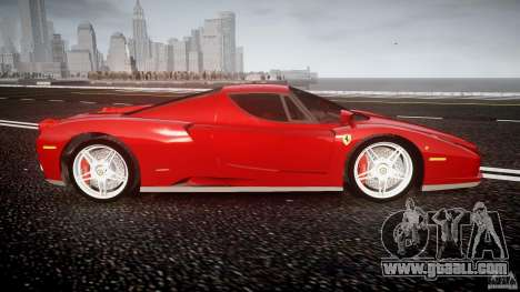 Ferrari Enzo for GTA 4 side view