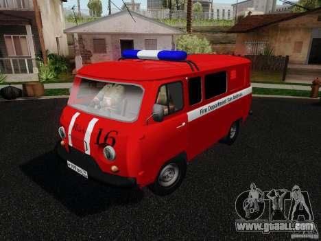 UAZ 3909 fire for GTA San Andreas
