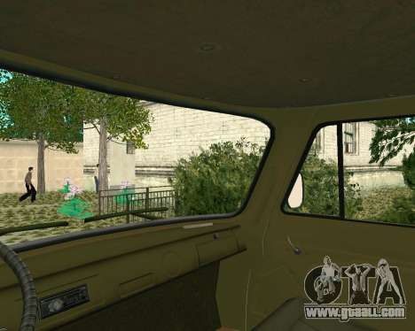 UAZ 3303 for GTA San Andreas back view