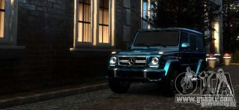 Mercedes-Benz G65 AMG [W463] 2012 for GTA 4 left view