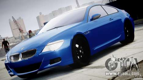 BMW M6 Orange-Black Bullet for GTA 4