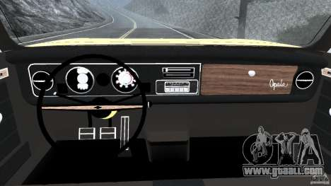 Chevrolet Opala Gran Luxo for GTA 4 back view