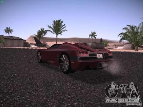 Koenigsegg CCX 2006 for GTA San Andreas right view