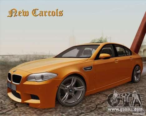 New Carcols for GTA San Andreas