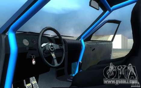 Nissan Pulsar GTI-R (RNN14) for GTA San Andreas inner view