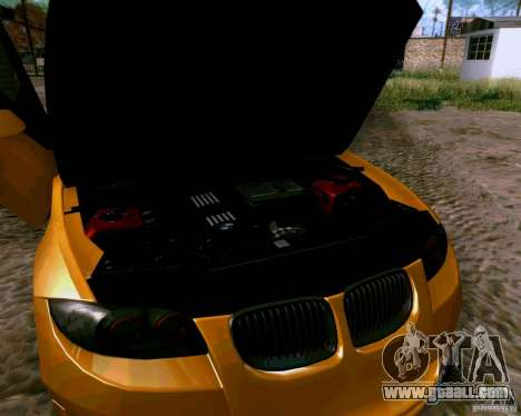 BMW 135 Tuning for GTA San Andreas inner view