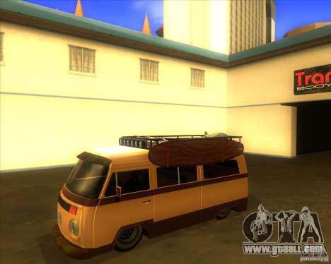 Volkswagen Kombi Classic Retro for GTA San Andreas