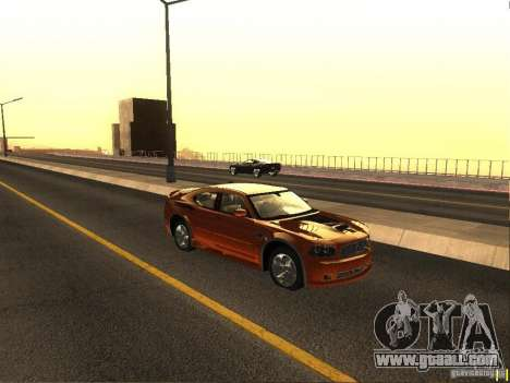 Dodge Charger From NFS CARBON for GTA San Andreas back left view