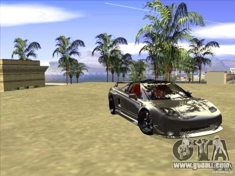 Acura NSX Tuned for GTA San Andreas inner view