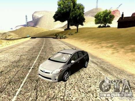 Toyota Prius Hybrid 2011 for GTA San Andreas