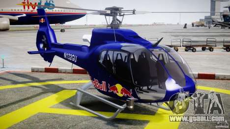 Eurocopter EC130 B4 Red Bull for GTA 4 back view