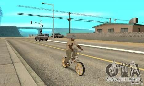 Spin Wheel BMX v2 for GTA San Andreas