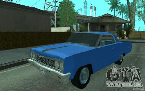Chevrolet Impala SS 1964 for GTA San Andreas left view