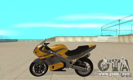 GTAIV NRG900 RR for GTA San Andreas left view